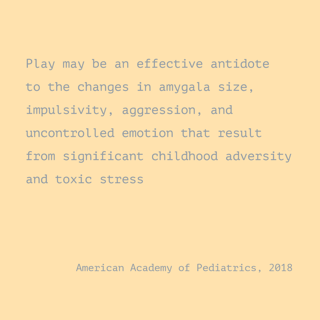 Play-based learning and children's stress responses