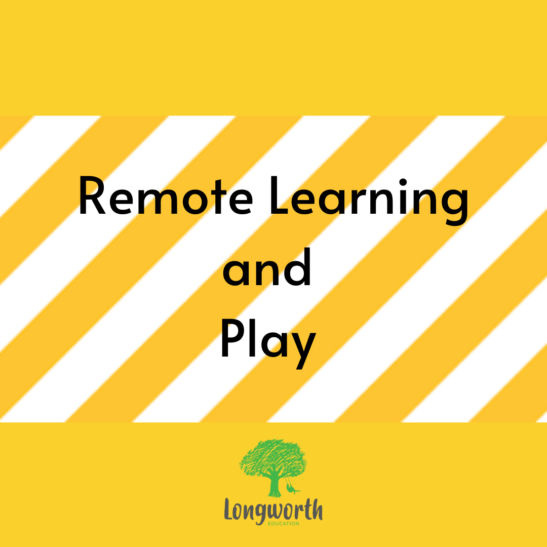 Remote Learning: Why Play Should be the Feature of Learning in a Time of Uncertainty